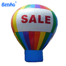 AG008 16ft / 5m Advertising cold Air inflatable PVC Ground Balloon Custom + Repair Kits + Blower Prompt Delivery(China)