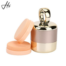 3D Electric Smart Foundation Face Powder Vibrator Puff Sponge Cosmetic Beauty Spa Makeup Tool Boxed With 2 Extra Puffs Free ship(China)