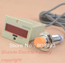 digital counter 12-24VDC with capacitance proximity Sensor Distance 1-10mm