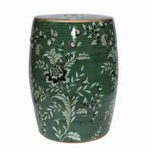 Flower Art Jindezhen dressing table ceramic garden stool Chinese ceramic drum stool bathroom chinese porcelain stools