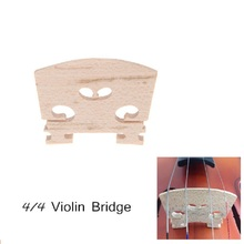 Professional Violin Bridge Maple 34mm in Height 3mm in Thickness Exquisite Workmanship for Full Size 4/4 Violin