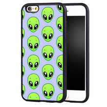 Psychedelic Alien Pattern case cover For Samsung s6 S7 S6edge S8 S8plus s4 s5 note 2 3 4 5