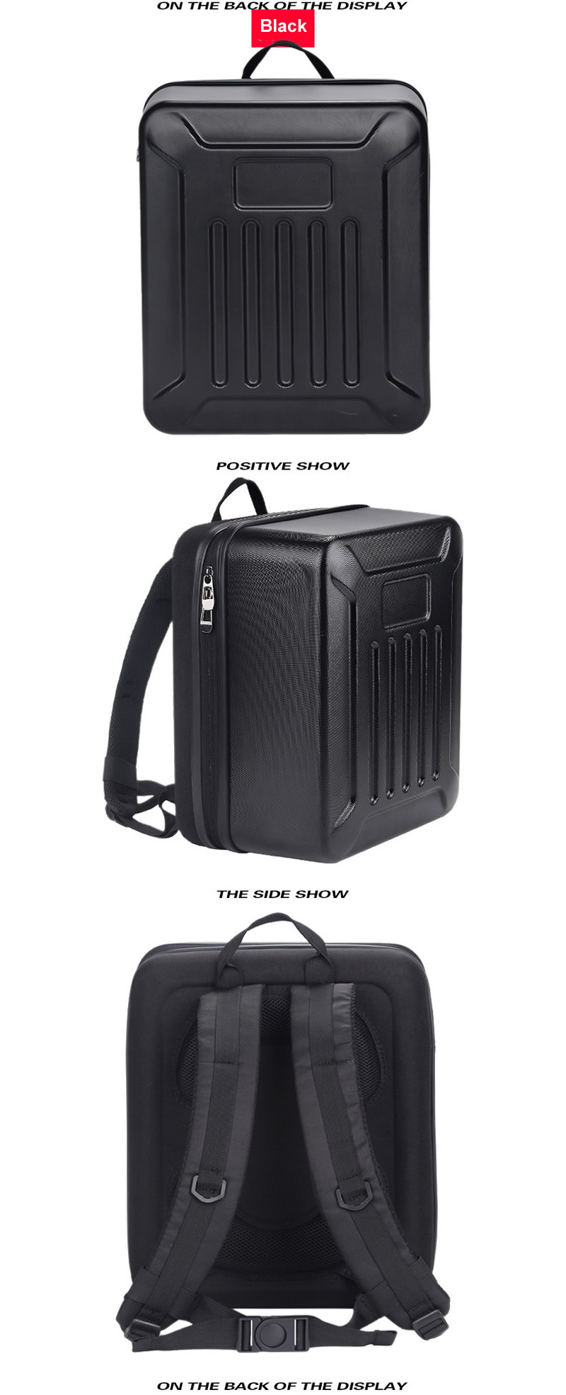 DJI Phantom 4 Series Drone PC Hard Shell Backpack Carbon Fiber Carrying Box for RC Quadcopter Storage Tool Accessories Knapsack