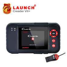 Original Auto Code Reader Launch X431 Creader VII+ Creader VII Plus Update Via Offical Website OBDII Scanner Same as CRP123(China)