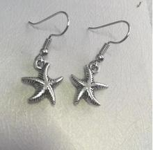 ed 0183 2017 Bohemian wind fashion retro starfish pendant earrings high quality jewelry clothing accessories gift to give women(China)