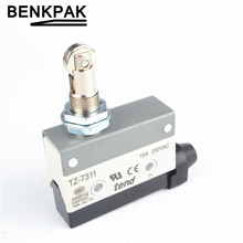 Hight Quality TZ-7311 tend Parallel Roller Plunger Actuator Momentary Micro Switch