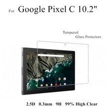 Pixel C Tempered Glass Protectors 0.3MM High Clear Screen Protective Films For Google Pixel C 10.2''(China)
