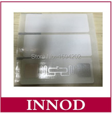 ISO18000-6C UHF tag RFID Inlay label with Alien H3 9662 tag User memory 512bits / read range 10meter uhf rfid tag paper label(China)