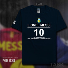 2017 100% cotton Barcelona Footballer star Men t-shirt tops Man casual Argentina t shirts Plus Size Lionel Messi tshirts gyms 08