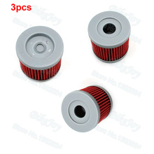3pcs/pack Oil Filter For 150cc 200cc 250cc Lifan Zongshen Loncin CB250 Engine Dirt Pit Bike