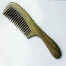 1pcs Sandalwood Combs Natural Green and Beauty Combs American High-grade Imported Timber For Hair Free Shipping