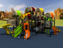 CE/TUV/SGS good plastic school playground park for kids YLW-1733(China)