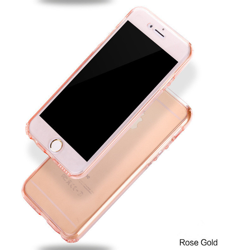 COOQII-360-Degree-Full-Protection-Cover-For-iPhone-7-6s-5s-se-case-Soft-TPU-Clear (2)