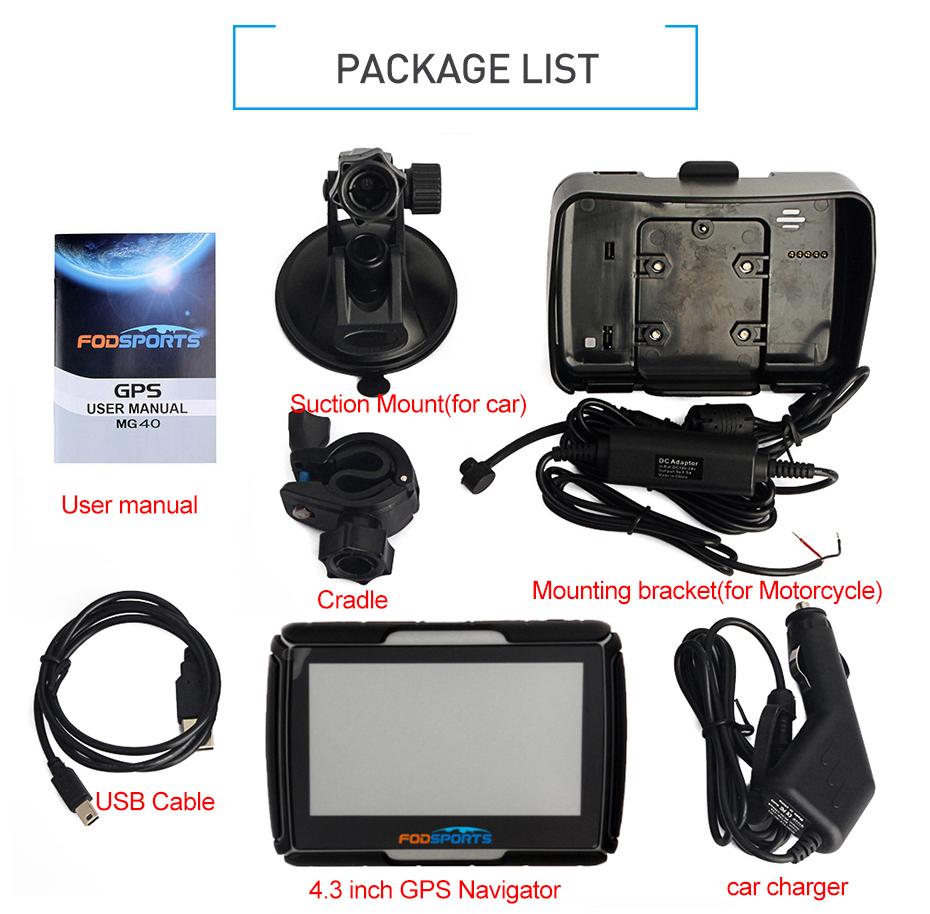 GPS package list