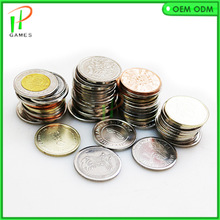 Arcade Medal-Coin Slot-Game-Machine-Accessories Tokens Stainless-Steel 10PCS for Credit