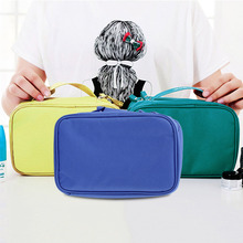 3 Colors Multifunctional Outdoor Travel Cosmetic Bags Storage Make Up Organizer Bag Men Women Polyester Fiber Bag