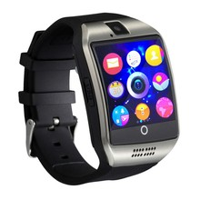 2017 SmartWatch Q18 Wristwatch with Touch Screen Camera TF Card Bluetooth Fashion Smart Watch for Android Mobile phone(China)