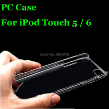 PC Case Ultra Thin Clear Hard Plastic Cover Protective Skin For Apple iPod Touch 5 5th / 6 6th Gen Generation 4.0 Inch