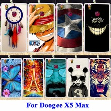 DIY Flexible Soft TPU Silicon Painted Covers For Doogee X5 Max  Pro Cases X5 Max Cell Phone Housing Bags Skin Shell Rubber Hood