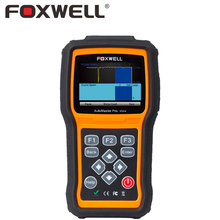 FOXWELL NT414 Automotive OBD2 Diagnostic Tool ABS SRS Transmission Engine EPB Oil Light Reset Airbag Crash Data OBD 2 Scanner(China)