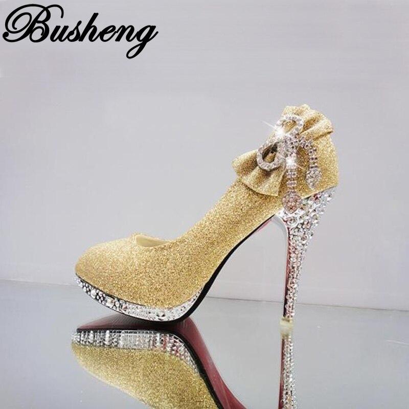 7cm 10cm High Heels Crystal Diamond Women Shoes Wedding Shoes Platform Bridal Shoes High-heeled Dress Shoes Women Pumps<br><br>Aliexpress