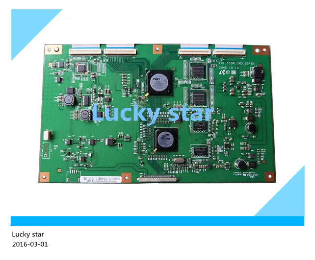 100% new good working High-quality for original FRC-TCON-CMO-55PIN logic board V400H1-LH3 screen<br><br>Aliexpress