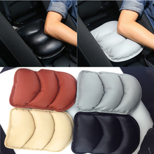 Youwinme Universal Car Arm Seat Rest Protective Case Auto Soft PU Cushion Armrests Pad Cover Vehicle Center Console