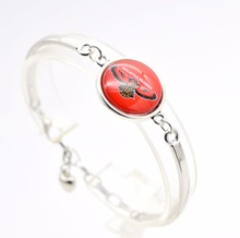 2017 New Basketball Charm Atlanta Bracelets&bangle for Women Super Bowl Fans Jewelry