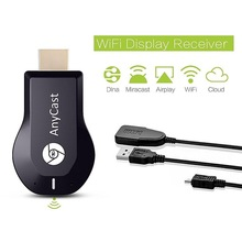 Mirascree AnyCast M4 Plus DLNA Airplay Full HD 1080P WiFi Display Receiver Miracast TV Dongle Wireless Connectivity TV HDMI(China)