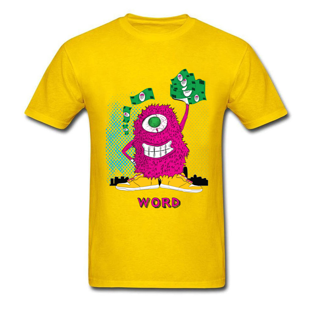 One eyed monster graphic t-shirt hoodies sweatshirts and more_yellow