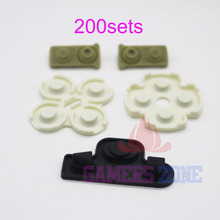 200sets For Playstation 3 PS3 Sixaxis Dualshock 3 Controller Conductive Pad Replacements(China)
