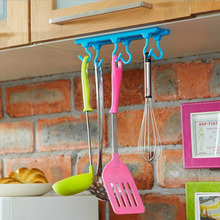 1Pcs New Storage Holders Kitchen Cupboard Hanger Rack Ceiling Hanging Rack Hooks Kitchen Accessories Cooking Tools Fashion Style