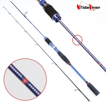 Top quality adjustable length 180-210cm L power ultralight spinning telescopic fishing rod carbon fiber fishing rods China