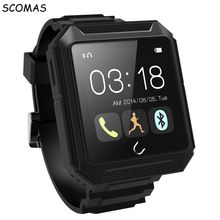 SCOMAS Ip68 waterproof Uwatch Uterra Smart Watche Blutooth compass smart electronics Android for Iphone for Samsung For Huawei(China)