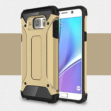 Ultra Thin 2 in 1 TPU + PC Material Combo Military Phone Cases For Samsung Galaxy Note 4 Note 5 Case Armor Shockproof Hard Case