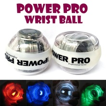 Ebuy360 Resbo 30LBS Gyroscope PowerBall Gyro Power Ball Wrist Arm Exercise Strengthener LED Force Ball with Speed Meter Counter
