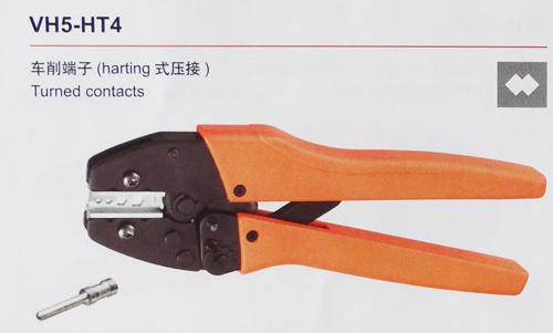 1 piece VH5-HT4 crimping pliers for turned contacts<br>