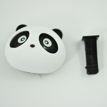 JEYL 2X 2Pcs Black/White Panda Shaped Car Air Freshener Perfume w Two Clips New(China)