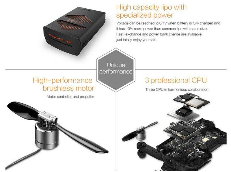 Wingsland S6 Pocket Selfie Drone Camera (5)