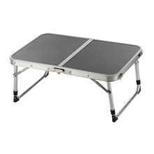 (Ship From US) Two Folded Table Adjustable Portable Aluminum AlloyLight  Weight Table For Camping Outdoor Picnic Hogard