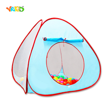 Blue Pink Kid Tent Foldable Outdoor Indoor Game Portable Little Children Tent Cubby Ball House Baby Sleeping Gadget Castle