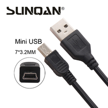 High Quality 75cm 100cm USB 2.0 A male to MINI B V3 5 PIN 5P Sync data charging charger cables For MP3 MP4 Digital Cameras