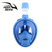 KEEP DIVING Kids Masque Diving Snorkel Children Diving Mask Underwater Full Face Snorkeling Mask Scuba For Swimmig Tools