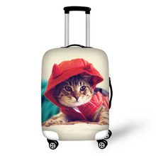 Prevent the impact to prevent scratches Cat Dog Bunny Pet pattern luggage case travel must be soft and durable non-slip