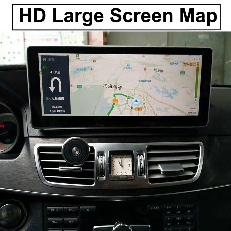 Liislee Car Multimedia Player NAVI For Mercedes Benz MB E Class W212 S212 C207 A207 2009~2017 Car Radio Stereo GPS Navigation (5)