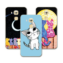 Cut Painted Dog Bear Cat Phone Case Huawei Nova Plus Cover Hard Plastic Funda Capa For Huawei Nova plus 5.5 inch+Free Gift