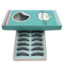 10pair Fake Eyelashes Party Natural Long False Eye Lashes Volume False Eyelashes 3d Sexy Stage Makeup Tools Cosmetics