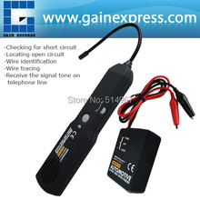 Automotive Cable Wire Tracker Short & Open Circuit Finder Tester Car Vehicle Repair Tone Tracer 6-42V DC Tool