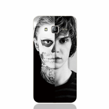 18142 evan peters doule face life cell phone case cover for Samsung Galaxy J1 ACE J5 2016 J7 N9150