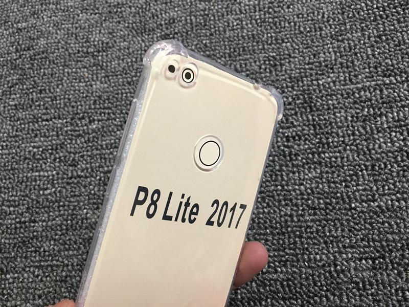 Transparent silicone case huawei P8 Lite 2017 honor 8 lite (3)